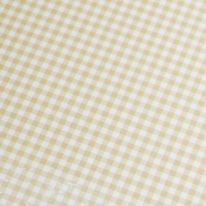 A4 240gsm Gingham Almond Design Card