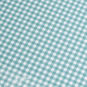 A4 240gsm Gingham Aqua Marine Design Card