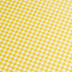 A4 240gsm Gingham Citrine Design Card