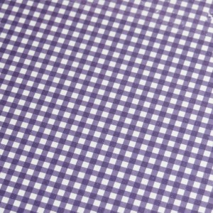A4 240gsm Gingham Lavender Design Card