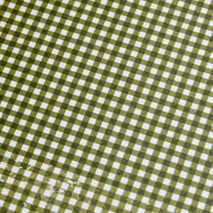 A4 240gsm Gingham Olive Design Card
