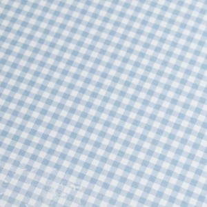 A4 240gsm Gingham Powder Blue Design Card