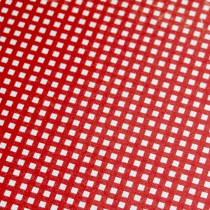 A4 240gsm Gingham True Red Design Card