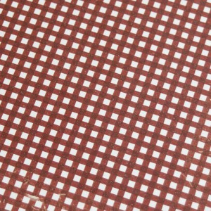 A4 240gsm Gingham Wine Red Design Card