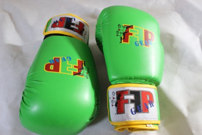 Lime Green Boxing Gloves