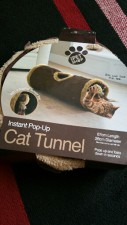 Pop Up Cat/kitten Play Tunnel Bown