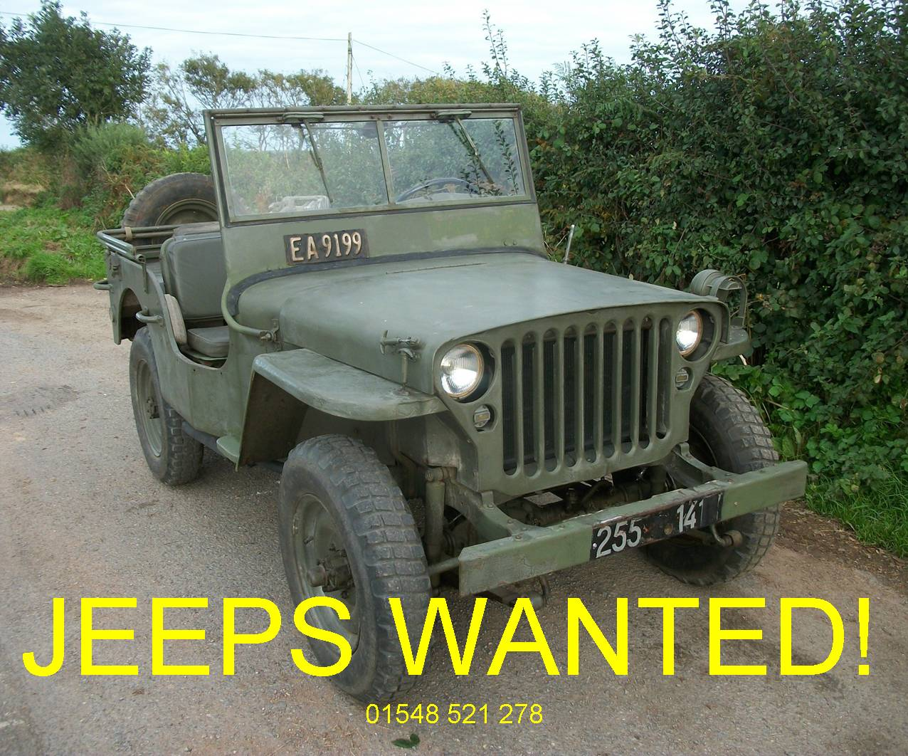 old jeeps for sale / Willys Jeeps Wanted