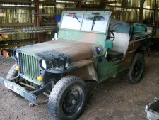camouflage willys hotchkiss jeep