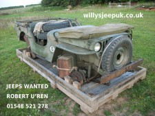 Crated jeep advertising feature