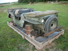 crated willys jeep, 2015