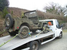 wilys m38 jeep  Devon to bermingham