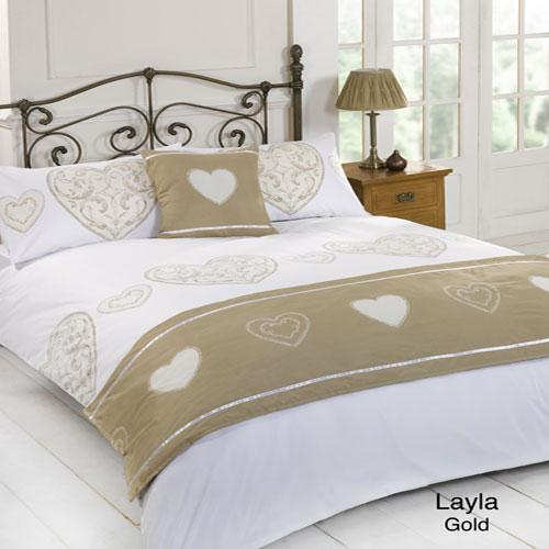 5 Piece Bed in a Bag Set Layla Gold