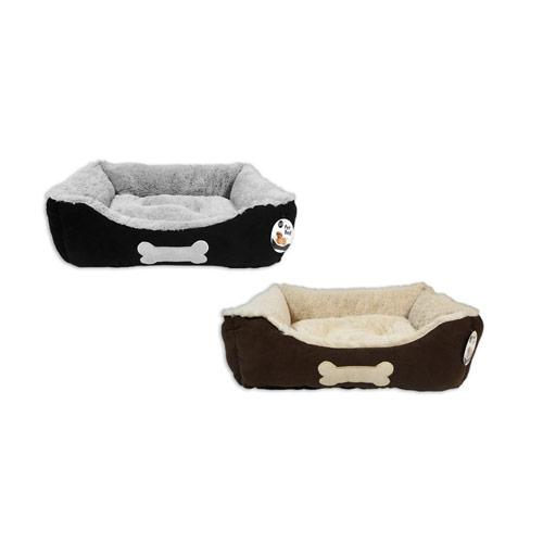 Faux Suede Pet Bed Small