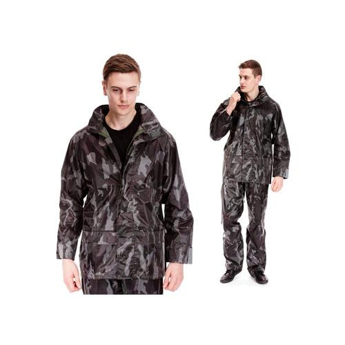 Adults Waterproof Jacket Camo