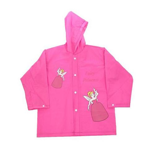 Girls Fairy Princess Raincoat