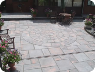Rotunda Patio Circle