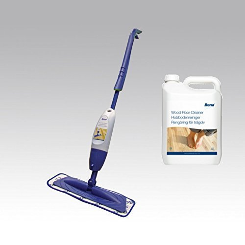 Bona Spray Mop With 4l Bona Wood Floor Cleaner Refill Bona