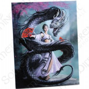 Dragon Dancer Anne Stokes Wall Plaque