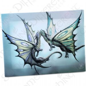 Fly Away With Me Anne Stokes Wall Plaque