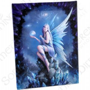 Star Gazer Anne Stokes Wall Plaque