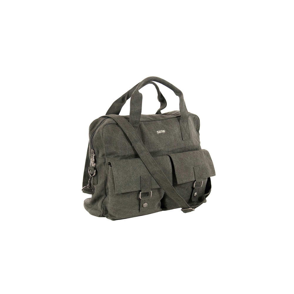 Hemp Carry Bag With Shoulder Strap