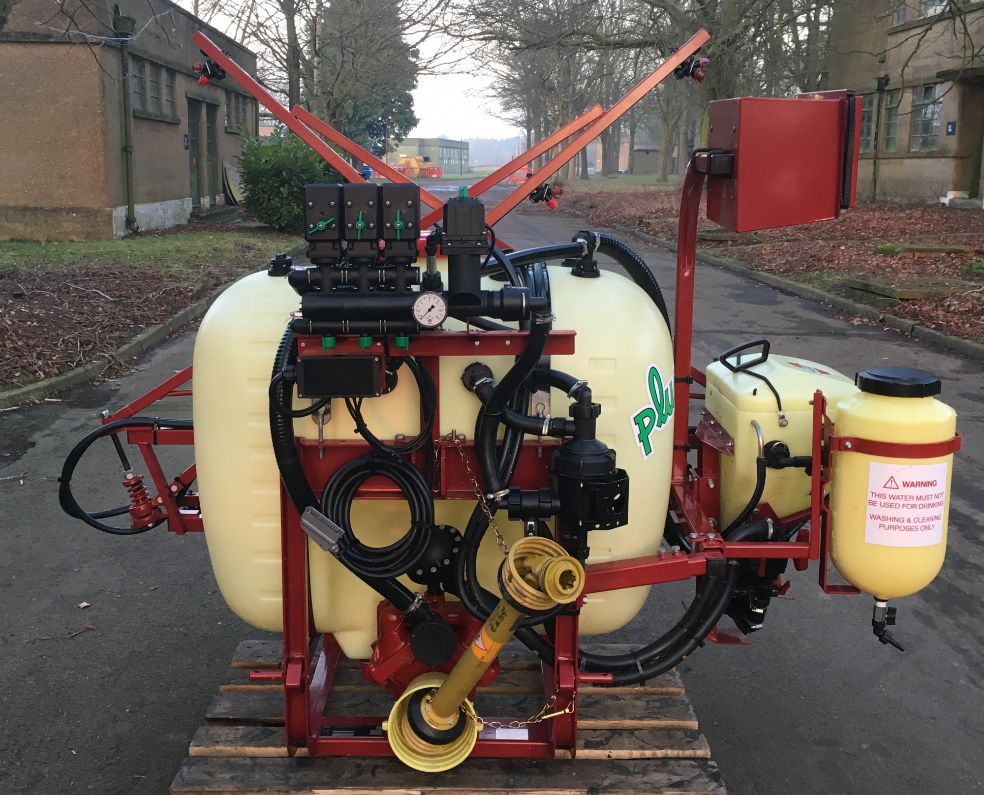 HNK406 Hardi NK Plus 400l 6m Mounted Sprayer