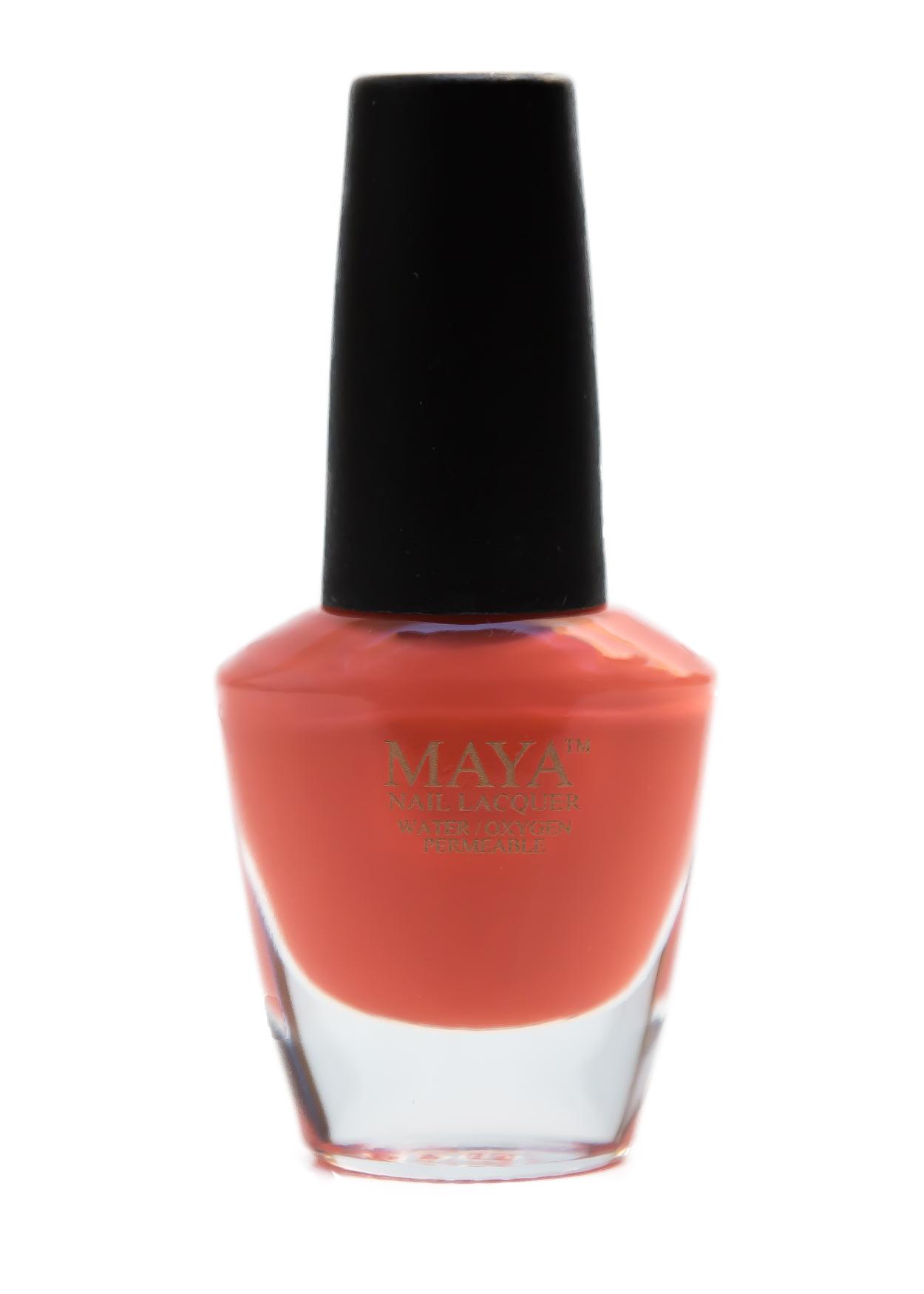 Orange Zest | Maya Halal Nail Polish | Love My Hijab
