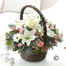 Rustic Winter |Basket