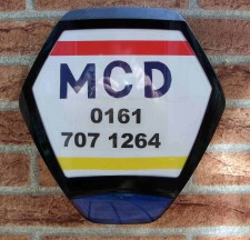 MCD burglar alarms security products manchester