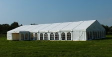 Our new 12m marquee