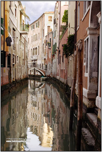 A Canal in Venice, moody pictures of Venice