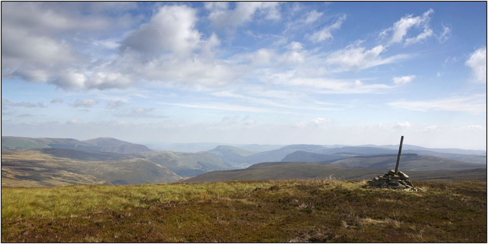 view of the Berwyns