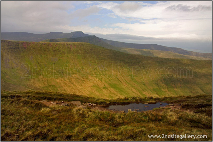 view of Pen y Fan