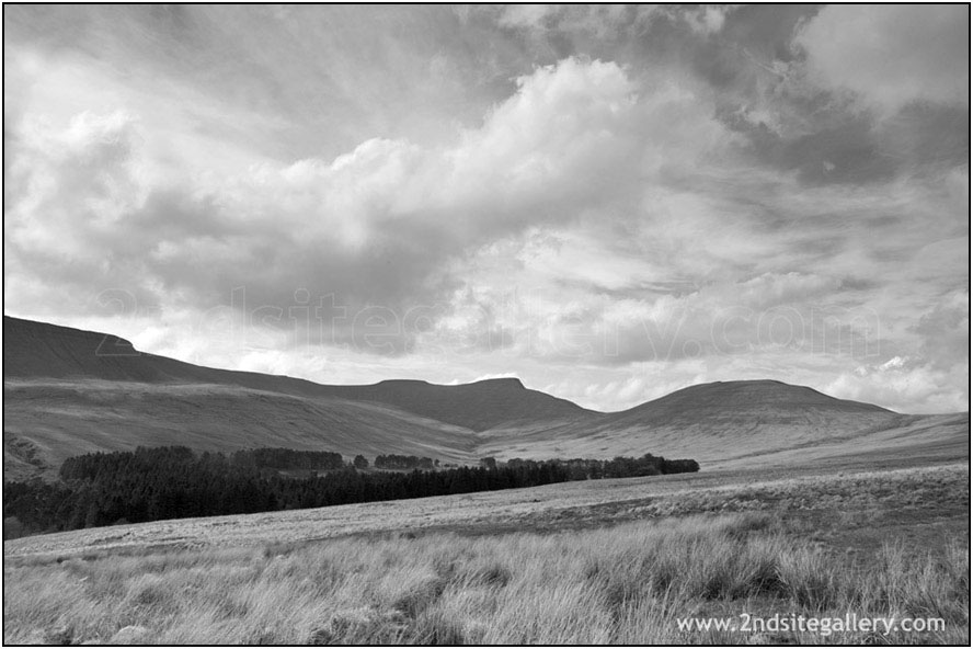 view of Pen y Fan in the Brecon Beacons