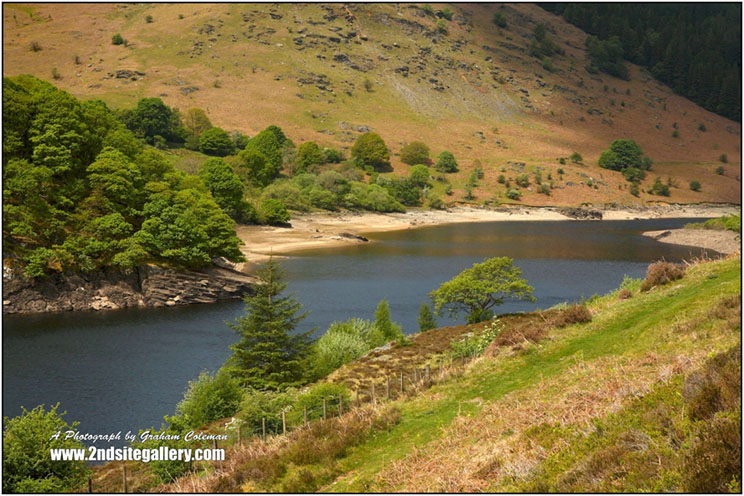 Reservoir near Elan Valley