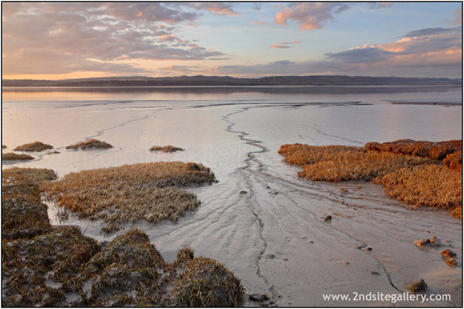 Evening view of the severn estuary Fine art landscape photography by Graham coleman