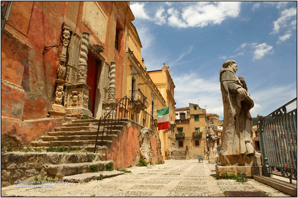 Town square, sicily