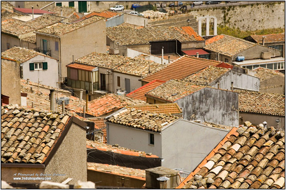 Roof tops at Prizzi