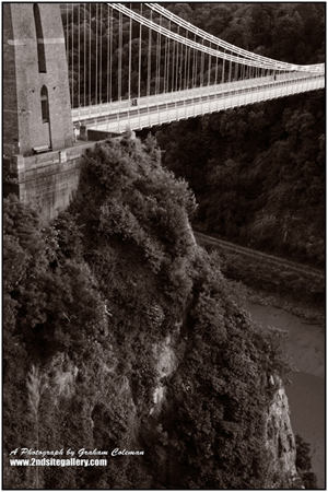 abstract of The clifton suspension bridge
