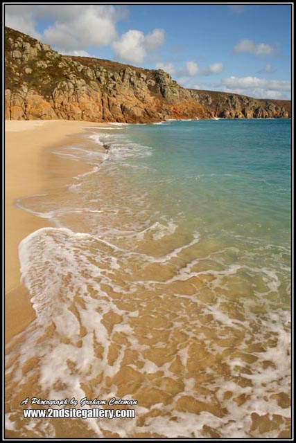 View of Porthcurno, Photographs of Cornwall by Graham Coleman