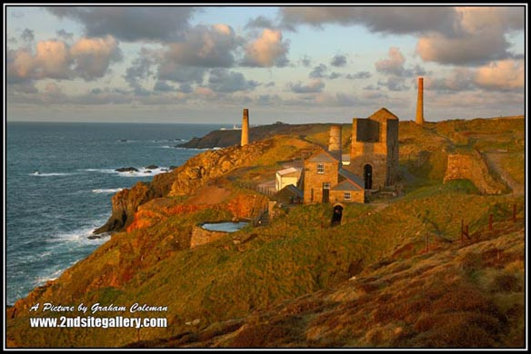 Cornish Landscapes, The Cornish Tin Mines, Landmarks of Cornwall