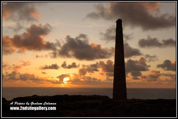 Classic Views of Cornwall, The levants Tin mine