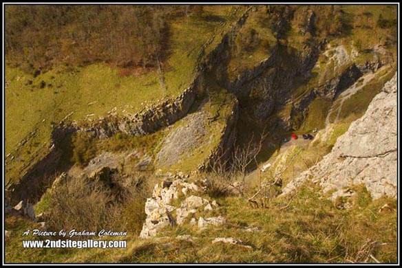 Cheddar Gorge , landmarks of somerset photographed by Graham Coleman