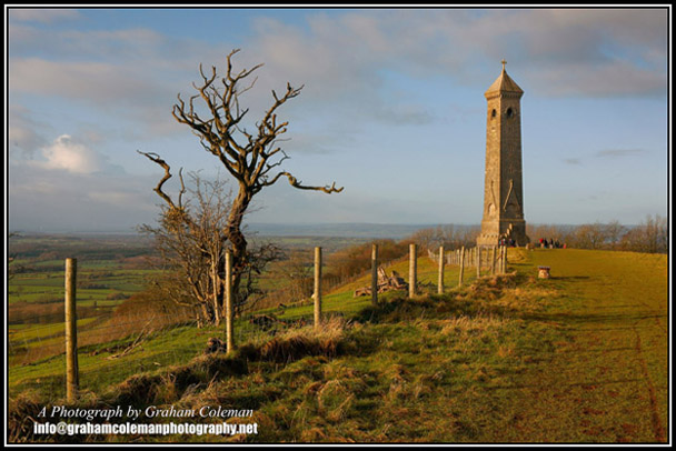 North Nibley, A Tower on The Cotswold Edge, Landmarks of The Cotswold Hills photographed by Graham Coleman