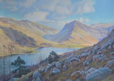 'Winter light and shade, Buttermere'