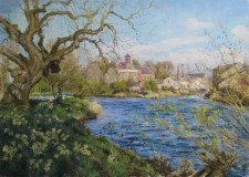 The River Derwent in Spring