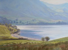 'The beach, Crummock Water'