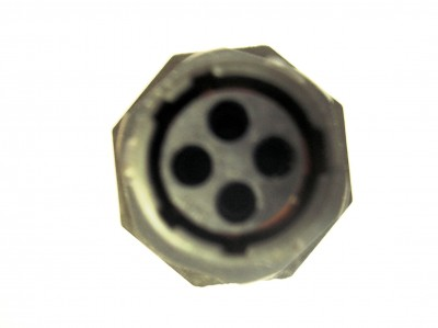 CON-154(L) Souriau 4 Way Jamnut Socket Connector (size 16) (L)
