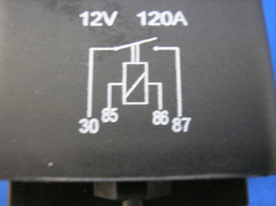 Heavy Duty 120A Relay