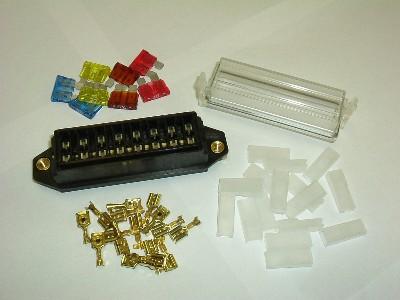 8 way standard blade fuse box kit panel fuse relay simtek 8 way standard blade fuse box kit panel fuse relay simtek uk